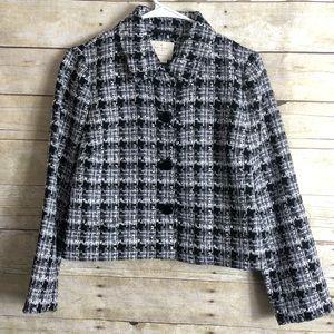 kate spade Jackets & Coats - Kate Spade New York Tweed Jacket semi crop